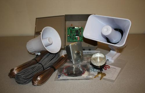 Cabin Camp Security System Kit Uses No Power When Armed
