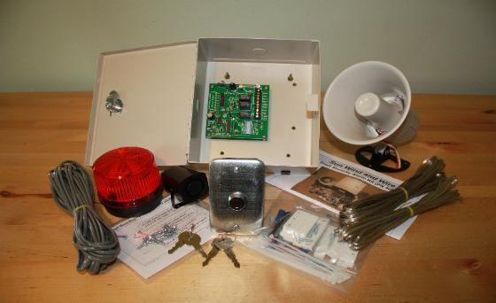 Shed Alarm Kit That Runs On 12v Dc By Sun Wind And Wire